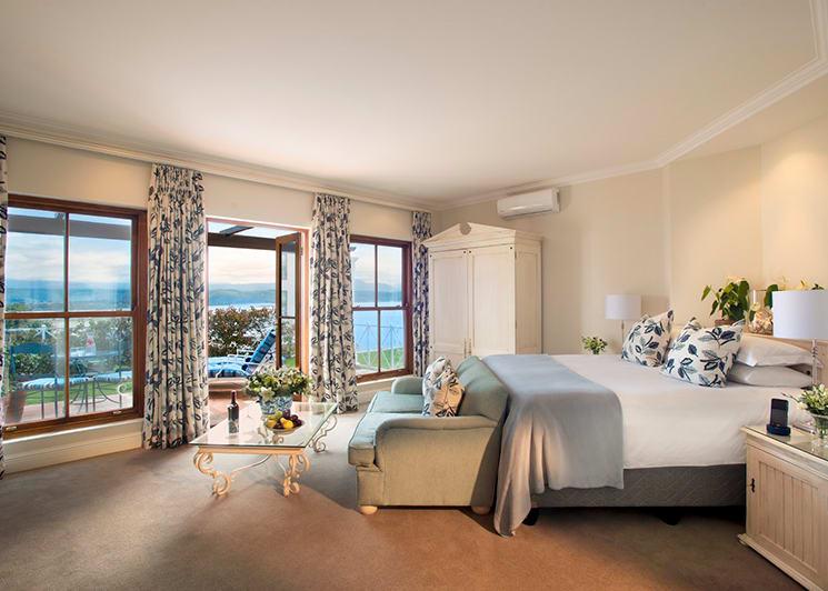 The Plettenberg Luxury Double Room Sea View Bedroom