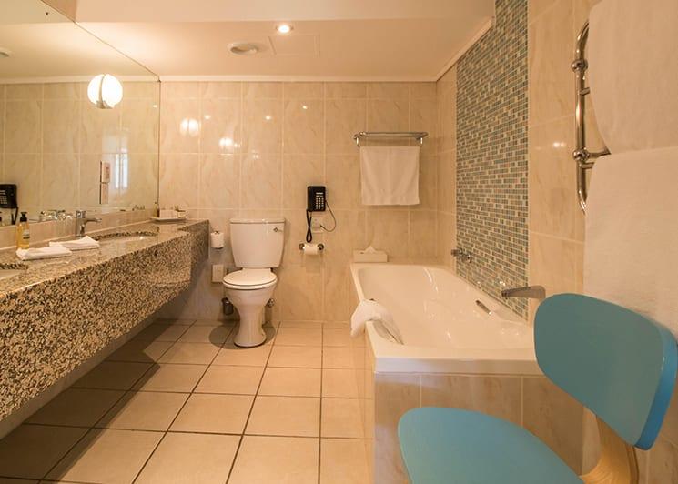 The Bay Hotel Classic Room Bathroom