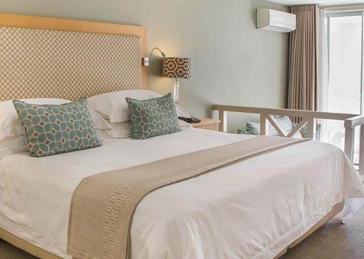 The Bay Hotel Premier Bedroom