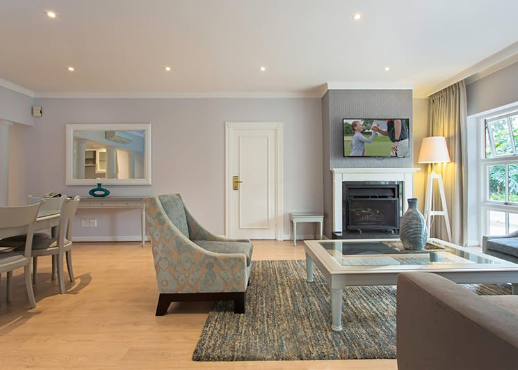 Fancourt Hotel Two Bedroom Suite Lounge