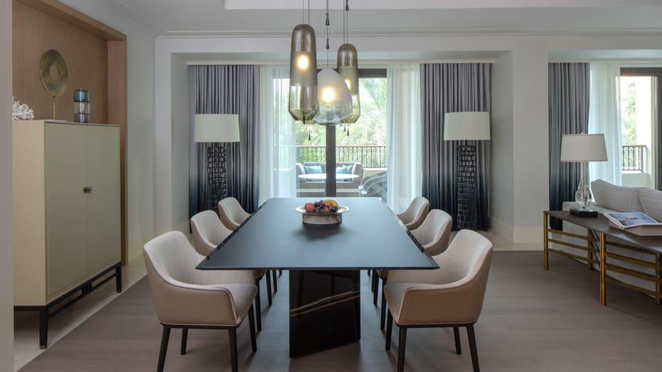 Imperial Suite dining