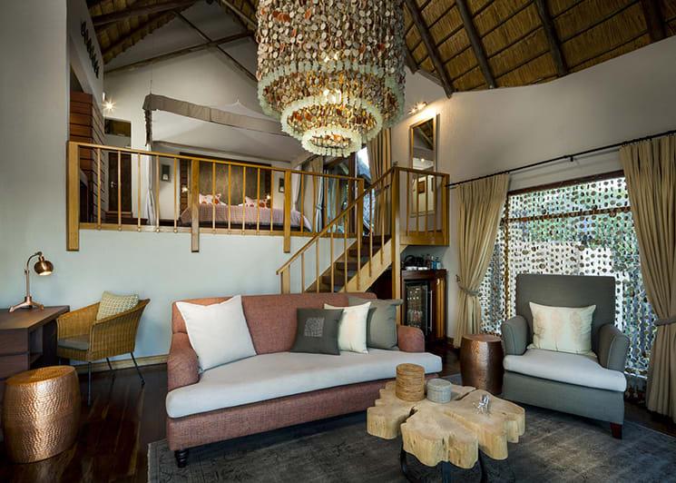 Ulusaba Rock Lodge Master Suite Lounge