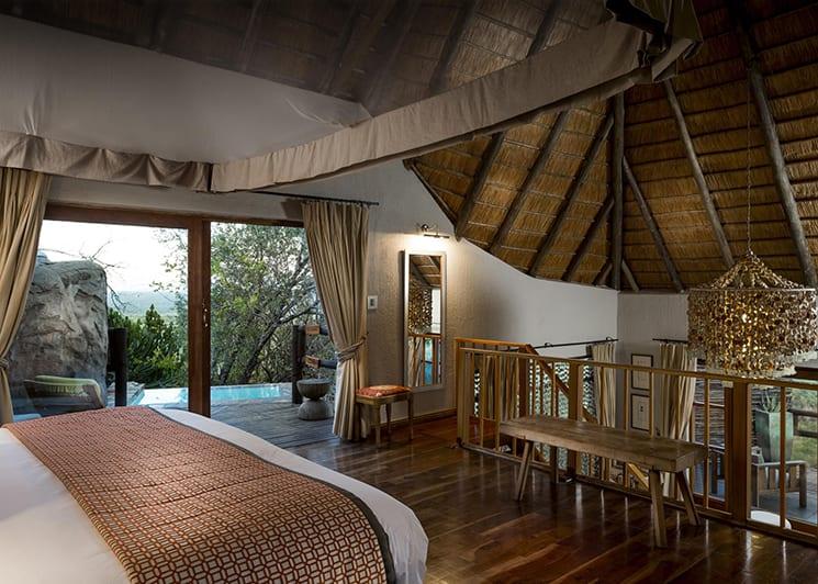 Ulusaba Rock Lodge Master Suite Bedroom