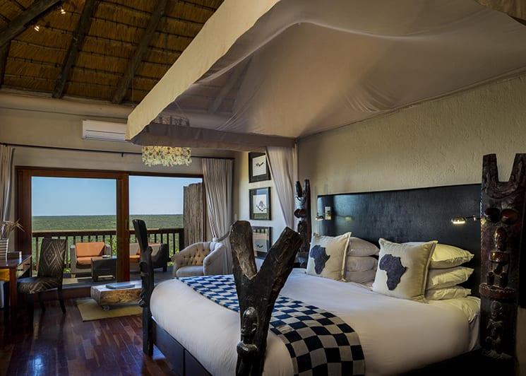 Ulusaba Rock Lodge Rock Cliff Bedroom