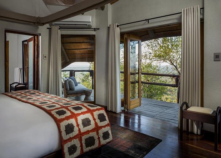 Ulusaba Rock Lodge Rock Suite Bedroom