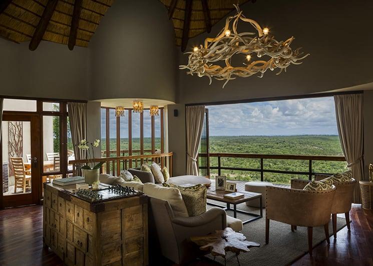 Ulusaba Cliff Lodge 1 Lounge