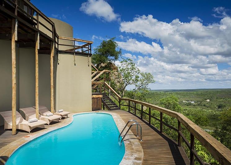 Ulusaba Cliff Lodge 1 Pool
