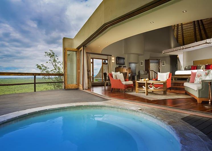 Ulusaba Cliff Lodge 2 Jacuzzi