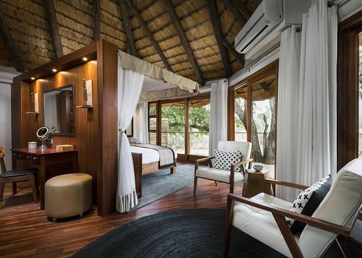 Ulusaba Safari Lodge River Room Lounge