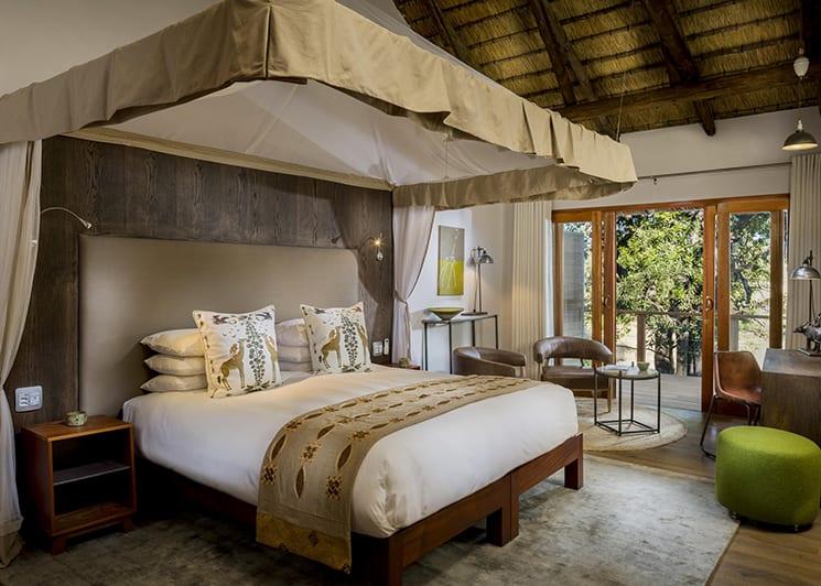 Ulusaba Safari Lodge Safari Room Bed
