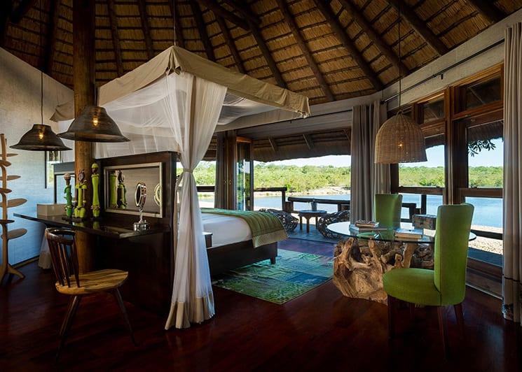 Ulusaba Safari Lodge Treehouse Suite Interior