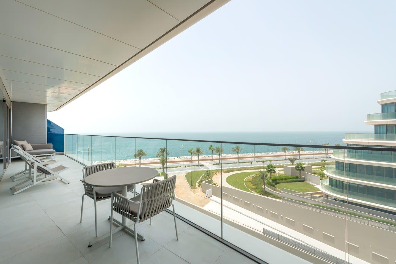 Marvellous Suite balcony