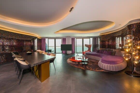 Marvellous Suite living