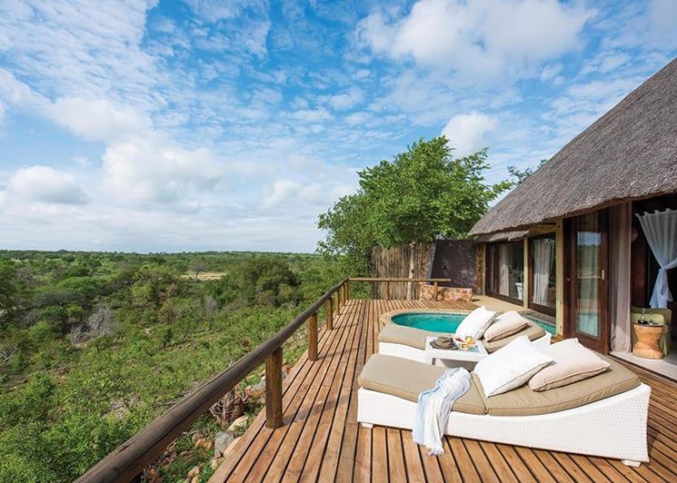 Leopard Hills Lodge Suite Deck