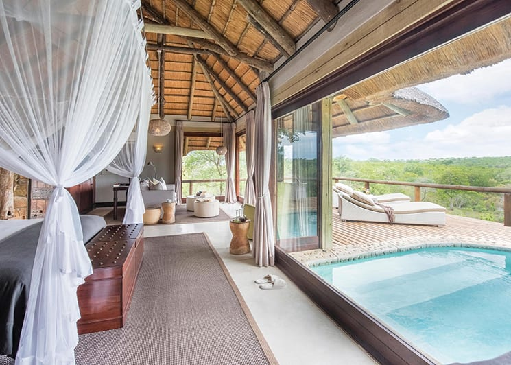 Leopard Hills Lodge Suite Pool