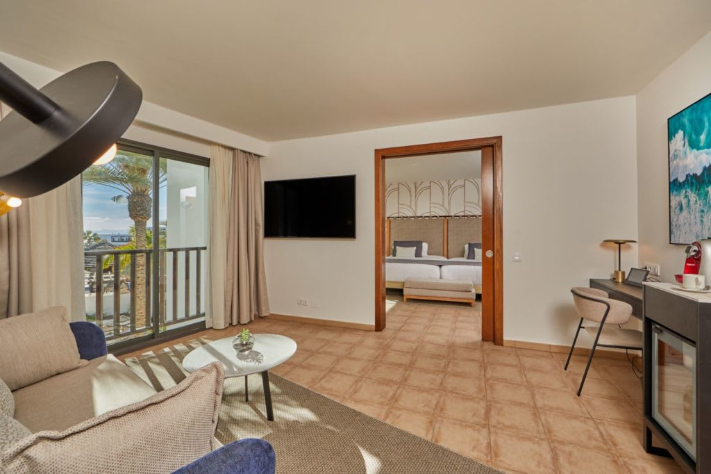 Suite Ocean View Preferred Club living