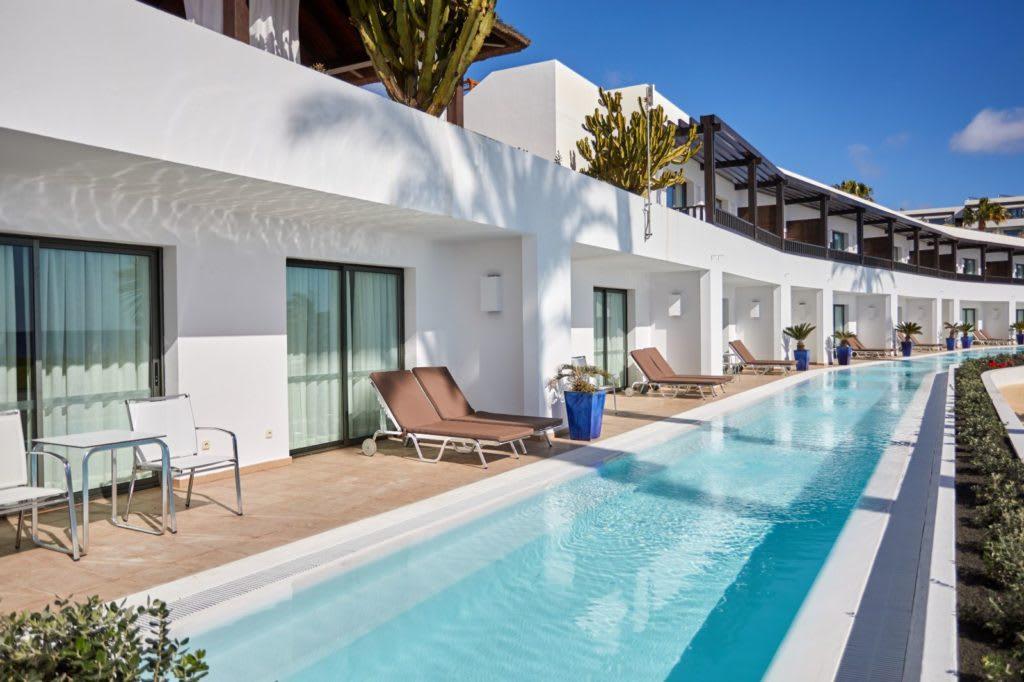 Swim up suite exterior