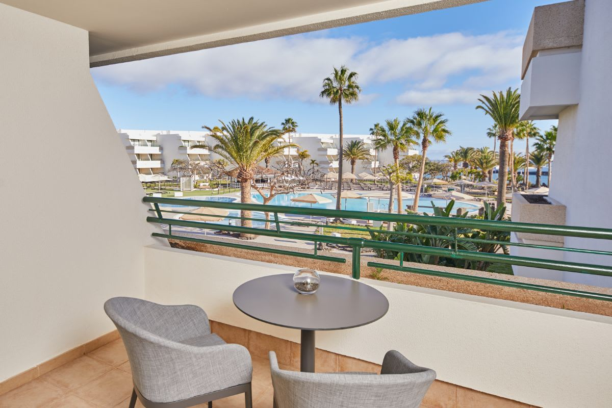 Preferred Double Pool View balcony