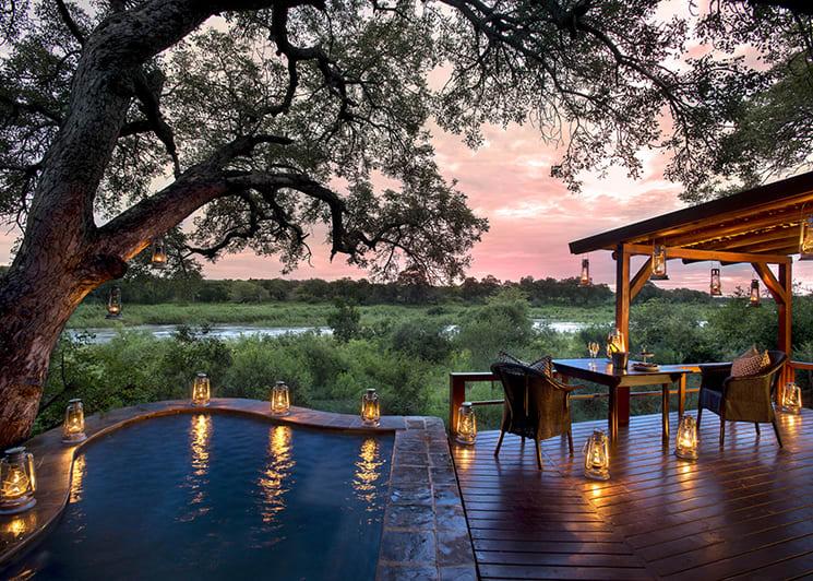 Lion Sands Tinga Lodge Tinga Suite Pool
