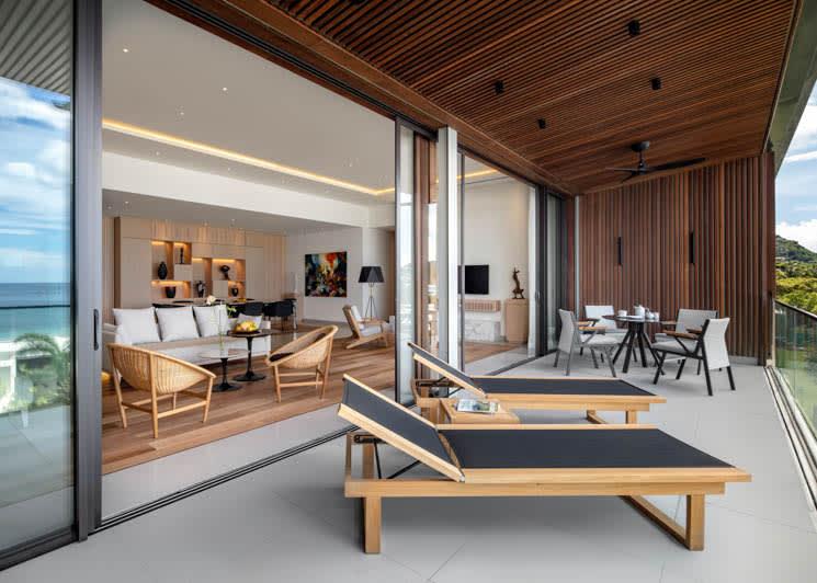 Silversands Grenada Penthouse Suite Terrace
