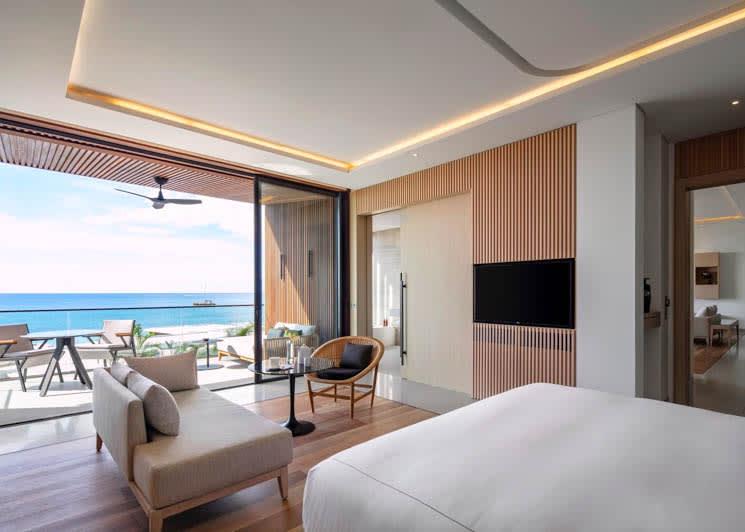 Silversands Grenada Penthouse Suite Master Bedroom