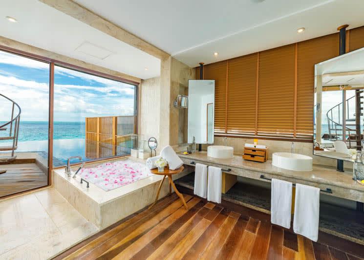 Ozen Reserve Bolifushi Private Ocean Reserve   Master Bathroom