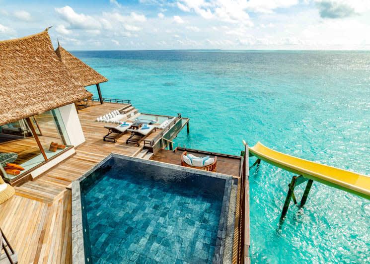 Ozen Reserve Bolifushi Private Ocean Reserve Outdoor Deck Pool
