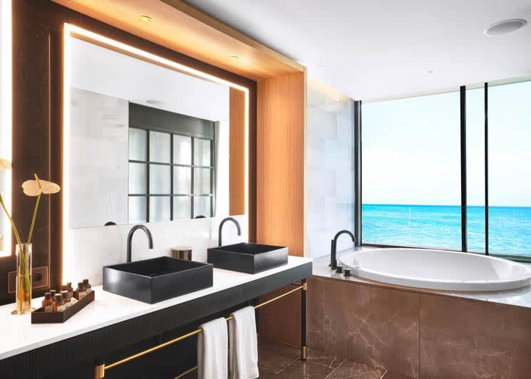 Bless Hotel Ibiza Studio Suite Bathroom