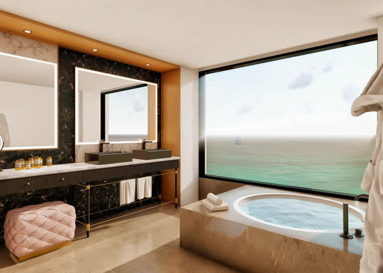 Bless Hotel Ibiza Suite Bathroom