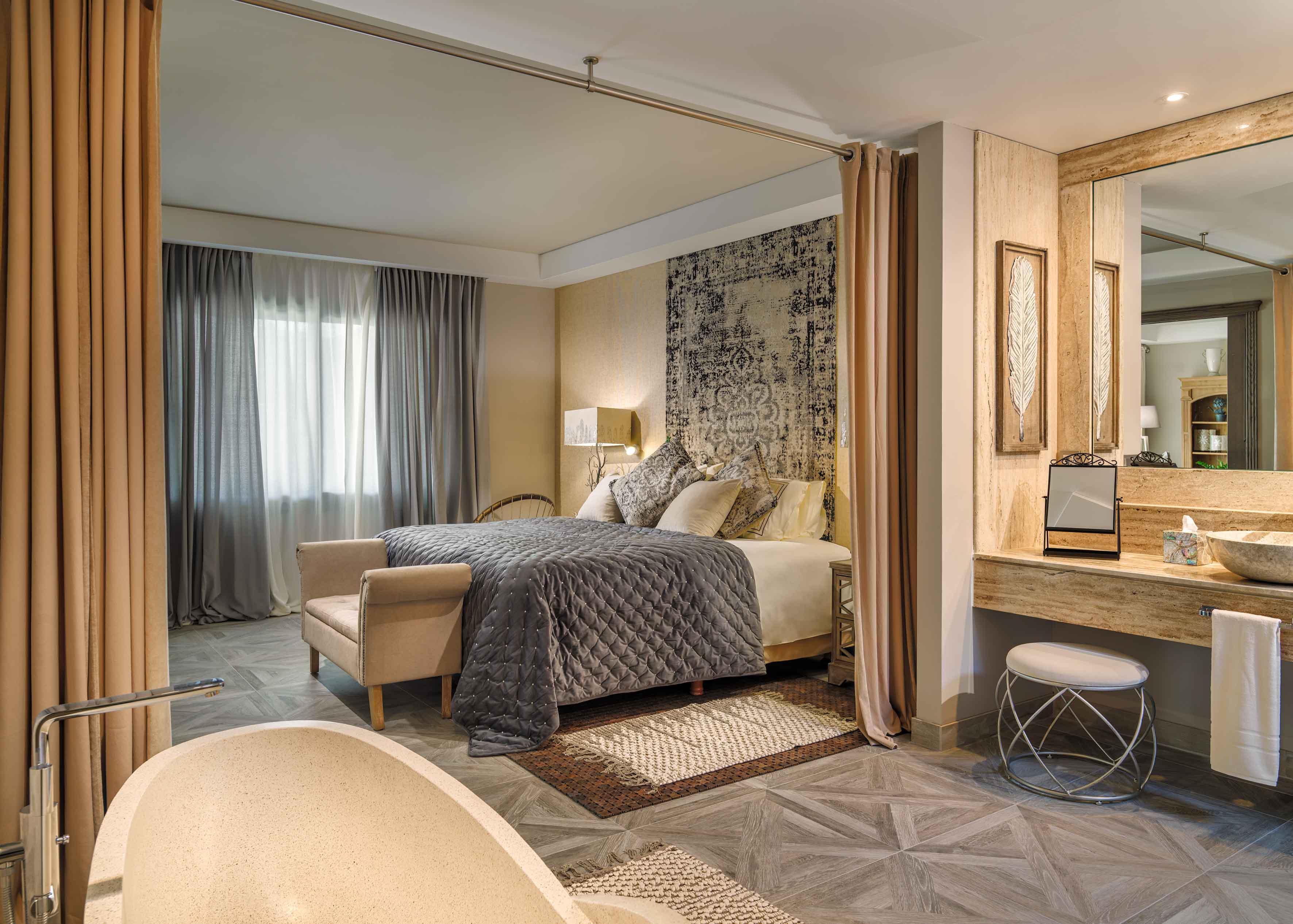 River Villas bedroom