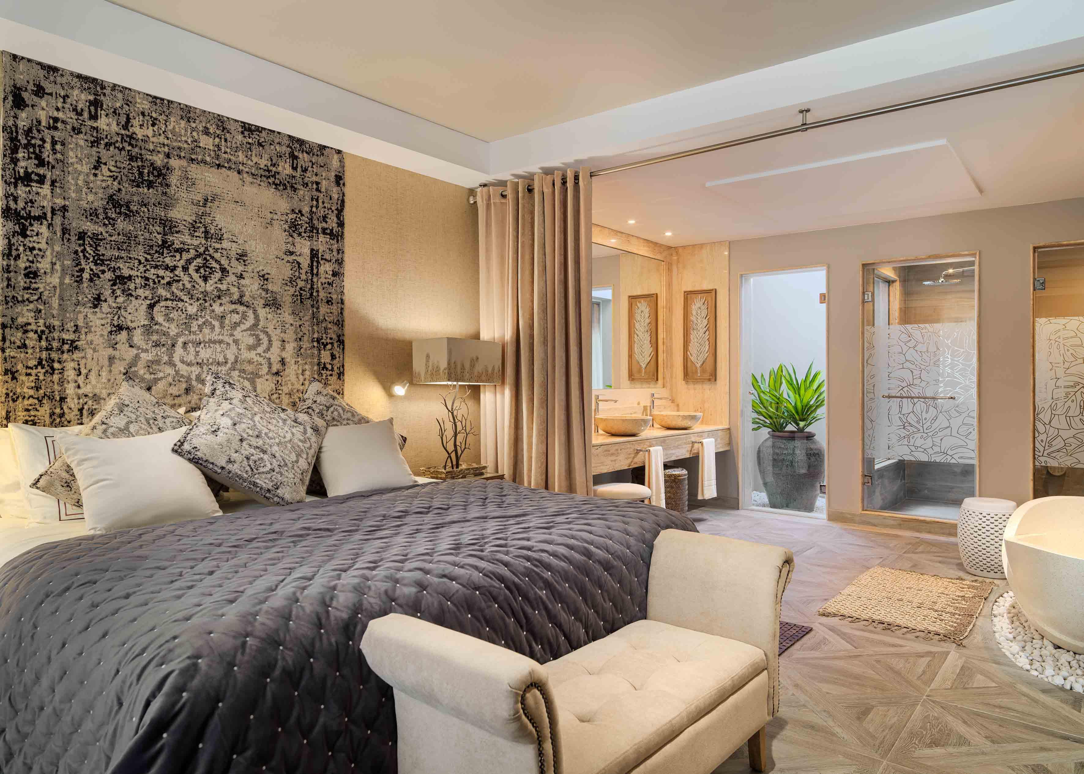 River Villas bedroom area