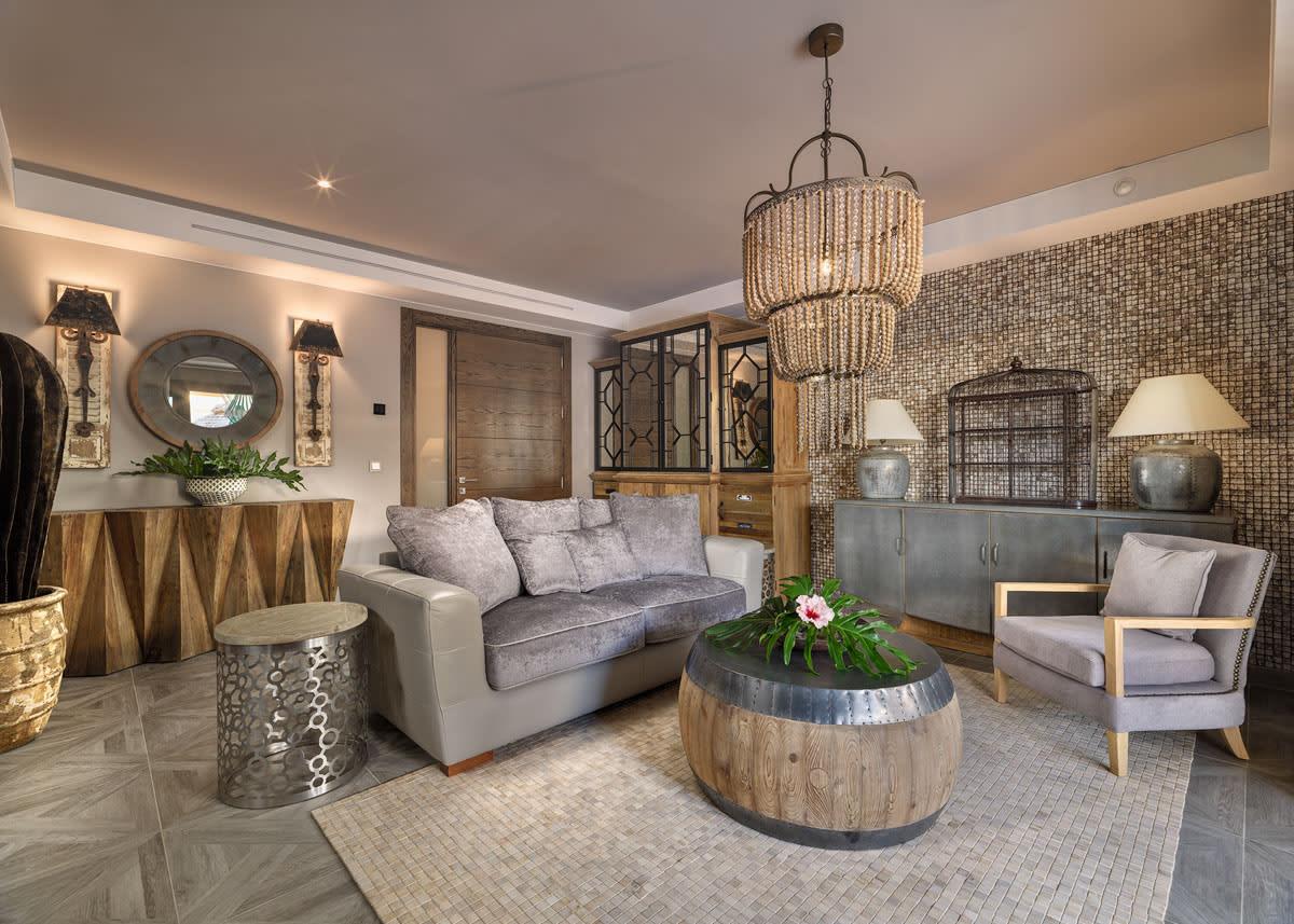 Living room Pool Villa