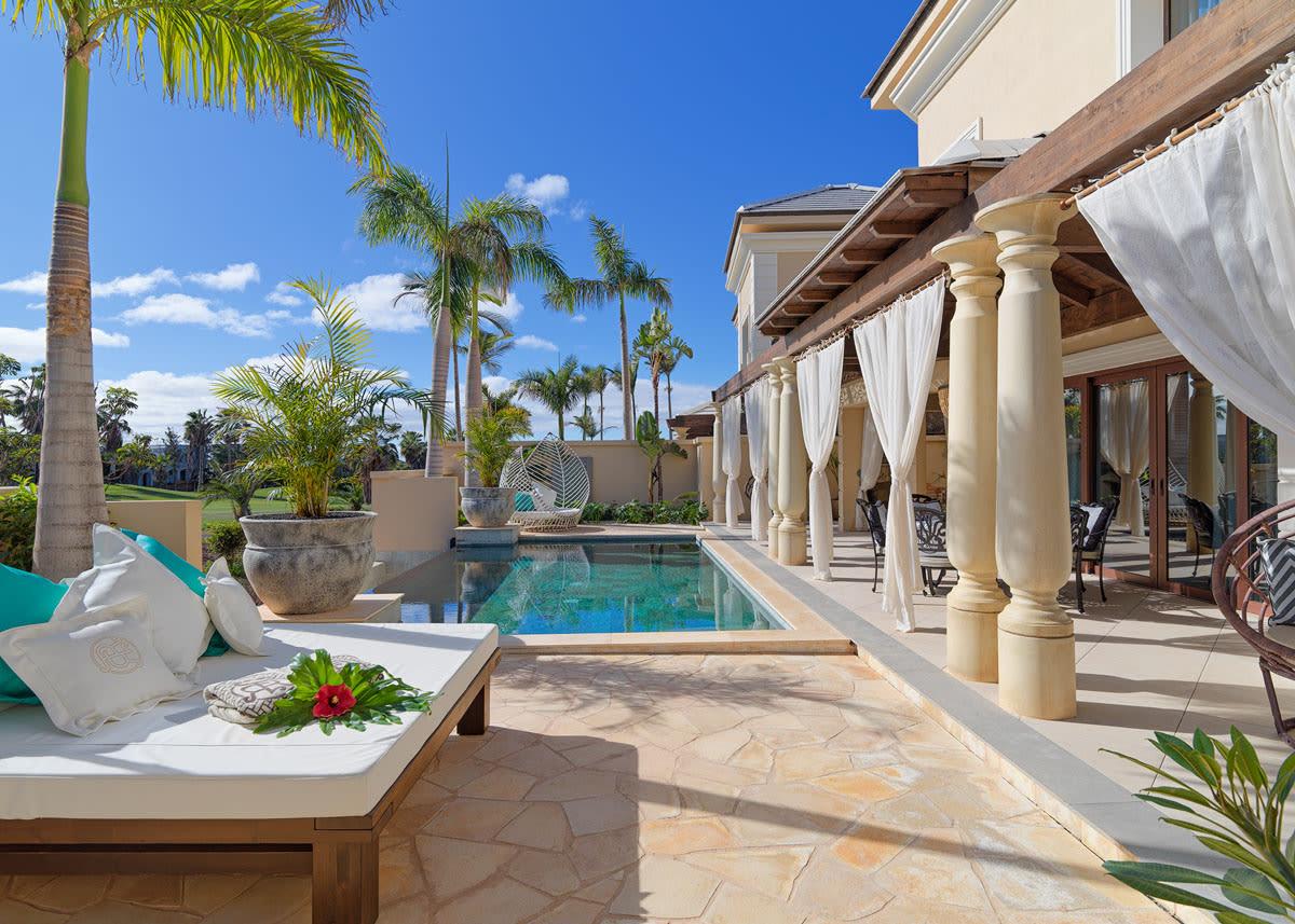 Terrace Grand Pool Villa