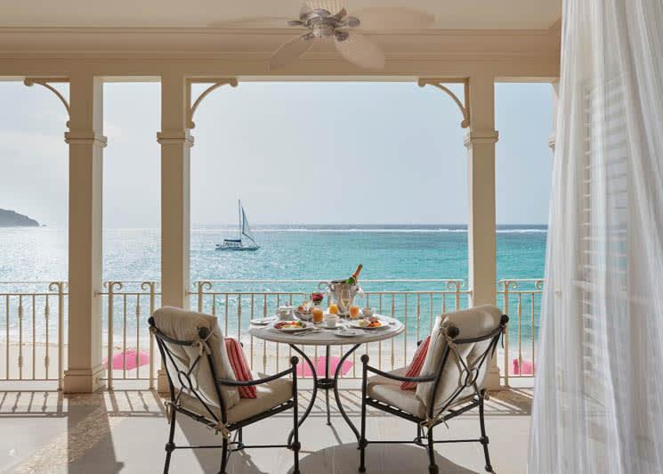 Mandarin Oriental Canouan One Bedroom Oceanview Penthouse Terrace