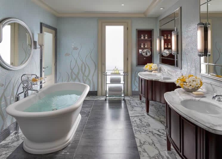 Mandarin Oriental Canouan One Bedroom Oceanview Penthouse Bathroom