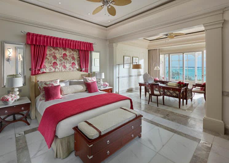 Mandarin Oriental Canouan Two Bedroom Oceanview Suite Bedroom