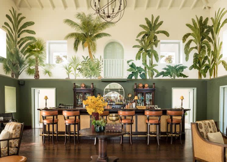 Jumby Bay Estate House Bar