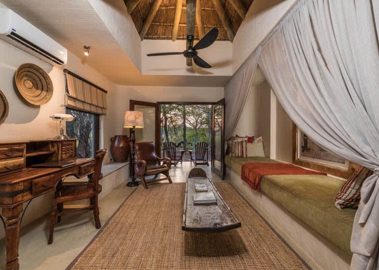 Sabi Sabi Bush Lodge Luxury Suite Lounge