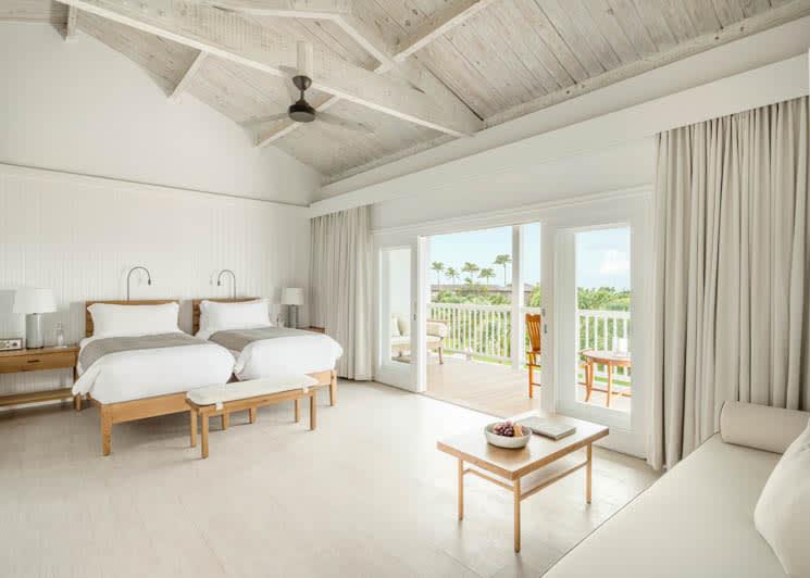 COMO Parrot Cay Garden View Twin Beds