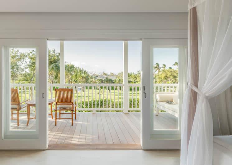 COMO Parrot Cay Garden View Balcony
