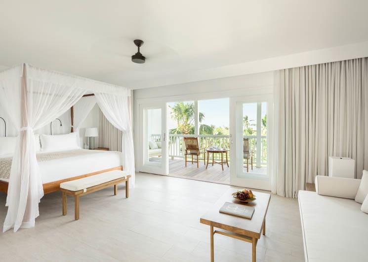 COMO Parrot Cay Garden View Bedroom