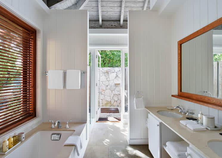COMO Parrot Cay Family Beach House Bathroom
