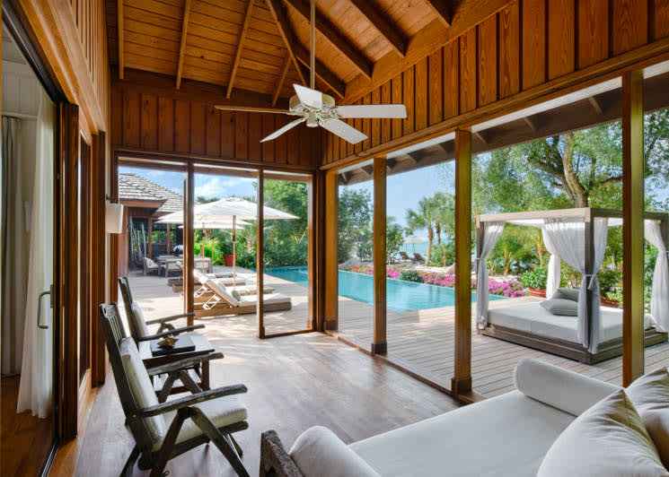 COMO Parrot Cay Lucky House Guest Bedroom
