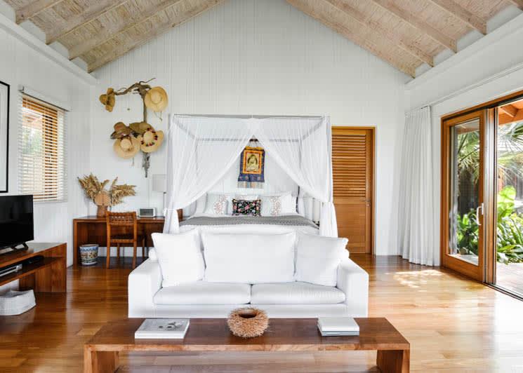 COMO Parrot Cay Lucky House Bedroom View