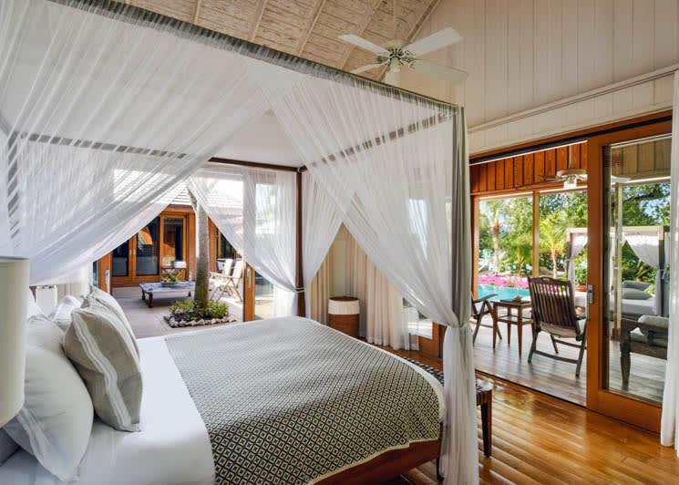 COMO Parrot Cay Lucky House Bedroom
