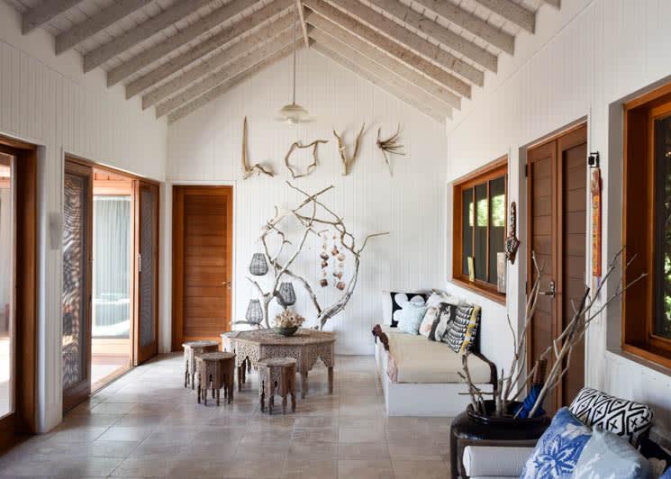 COMO Parrot Cay Lucky House Entrance