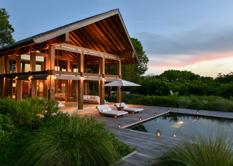 COMO Parrot Cay Point House Outdoor Pool