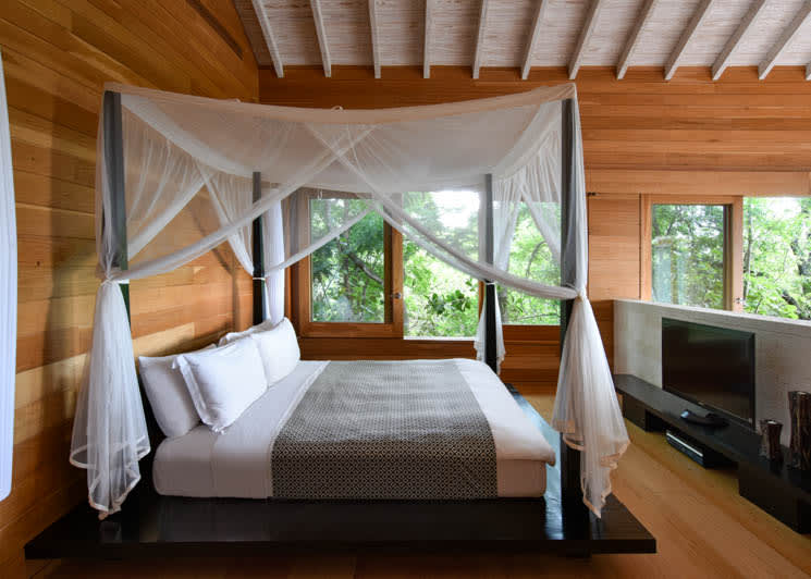 COMO Parrot Cay Point House Bedroom