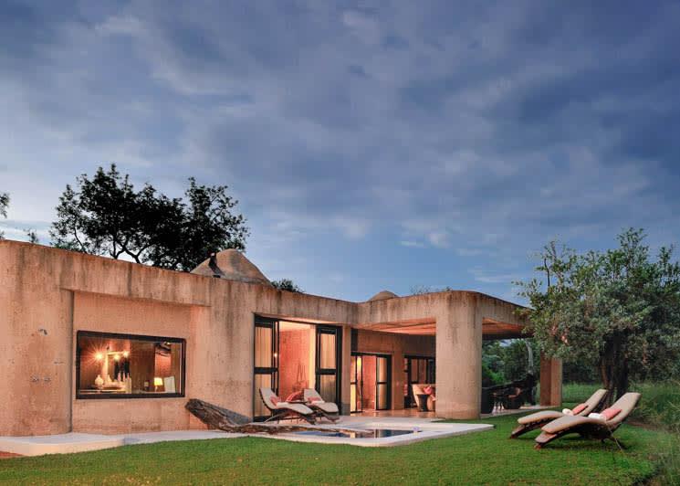 Sabi Sabi Earth Lodge Amber Suite Exterior