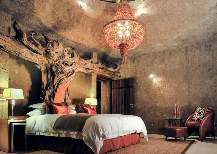 Sabi Sabi Earth Lodge Amber Suite